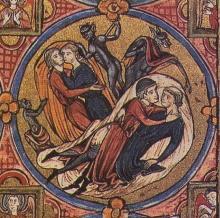 Bible Moralisee, same-sex couples